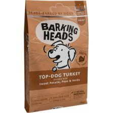 Barking Heads - Top Dog Turkey Grain Free (Kalakutiena) 12kg