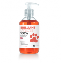 Brilliant Salmon Oil 100% 300ml (odai ir kailiui)
