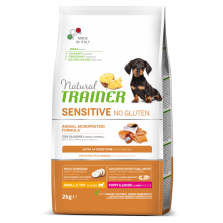Trainer Natural Puppy&Junior Mini Salmon Sensitive NO GLUTEN 2 kg