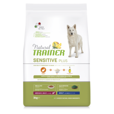 Trainer Natural Adult Sensitive M/M Rabbit (Triušiena) 3kg