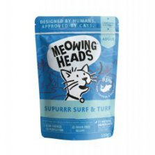 Meowing Heads SuPurr Surf and Turf konservai katėms 100g