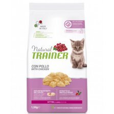 Trainer Natural Cat Kitten Chicken kačiukams su vištiena 1,5kg