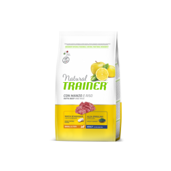 Trainer Natural Adult Mini (Jautiena,ryžiai,ženšenis) 2 kg