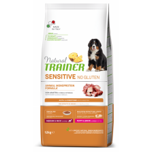 Trainer Natural PUPPY/JUNIOR  M/M DUCK  NO GLUTEN (su antiena) 12kg