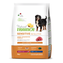 Trainer Natural Sensitive Adult M/M Lamb & Rice NO GLUTEN ( Ėriena) 3kg