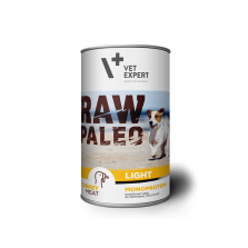 Raw Paleo Adult Light Turkey - konservai šunims su kalakutiena 400g