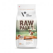 Raw Paleo Puppy Medium šunims su kalakutiena 10kg