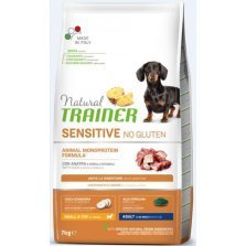 Trainer Natural Adult Mini Duck NO GLUTEN pašaras šunims su antiena 7kg