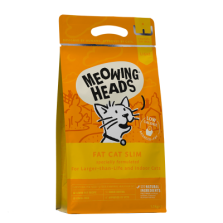 Meowing Heads - Fat Cat Slim Grain Free sausas maistas katėms 1,5kg
