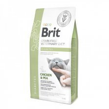 Brit Veterinary Diet Diabetes pašaras katėms 2kg