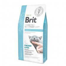 Brit Veterinary Diet Obesity pašaras katėms 400g