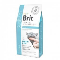 Brit Veterinary Diet Obesity pašaras katėms 2kg