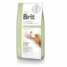 Brit Veterinary Diet Diabetes pašaras šunims 2kg