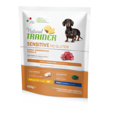 Trainer Natural Adult Mini Lamb NO GLUTEN pašaras šunims su ėriena 800g