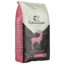 Canagan Country Game Small breed (su antiena, triušiena ir elniena) 6 kg