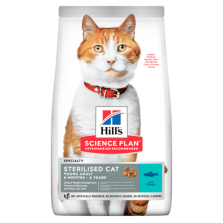 Hill's Sterilised Young Cat Tuna - Sterilizuotoms katėms su tunu