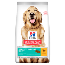 Hill's Canine Adult Perfect Weight Large Breed ėdalas šunims su vištiena 12kg