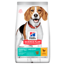 Hill's Canine Adult Perfect Weight Medium Chicken
