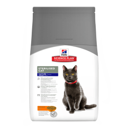 Hill's Feline Sterilized Mature Cat - sterilizuotoms senyvoms katėms