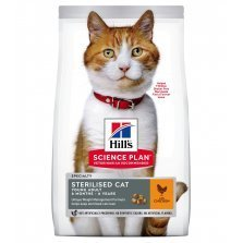 Hill's Sterilised Young Cat Chicken - Sterilizuotoms katėms su vištiena