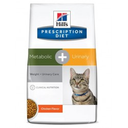 Hill's PD Feline Metabolic+Urinary 4kg