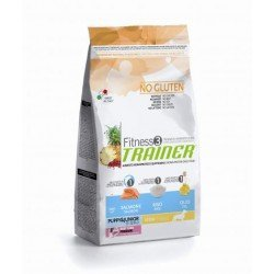 Trainer Fitness3 Puppy&Junior Mini Salmon/Rice/Oil NO GLUTEN 2 kg