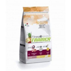 TRAINER FITNESS 3 ADULT MINI NO GLUTEN LAMB-RICE-OIL 2kg