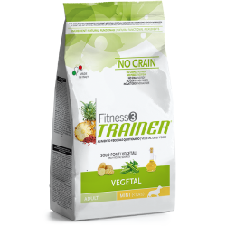 Trainer Fitness 3 Adult Mini NO GRAIN VEGETAL (Bulvės,Žirniai,Aliejus) 2 kg