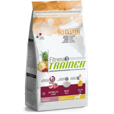TRAINER FITNESS 3 ADULT MINI NO GLUTEN LAMB-RICE-OIL 800g