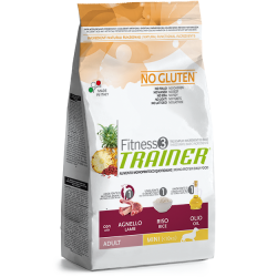 TRAINER FITNESS 3 ADULT MINI NO GLUTEN LAMB-RICE-OIL 7,5 kg