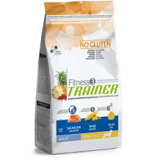 Trainer Fitness3 Adult Mini Salmon/Maize/Oil NO GLUTEN 7,5 kg