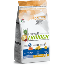 Trainer Fitness 3 Adult Medium&Maxi Salmon-Maize-Oil NO GLUTEN 3kg