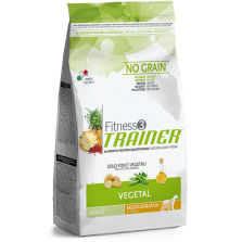 Trainer Fitness 3 Adult M/M NO GRAIN VEGETAL (Bulvės,Žirniai,Aliejus) 3kg