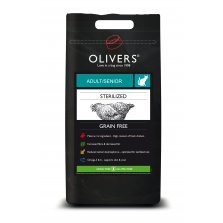 Olivers STERILIZED CAT GRAIN FREE 4kg