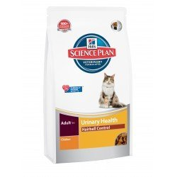 Hill's SP Feline Adult Urinary Health Hairball Control Chicken 1,5kg