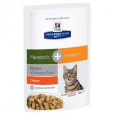 Hill's Prescription Diet Feline Metabolic + Urinary guliašai katėms 85g
