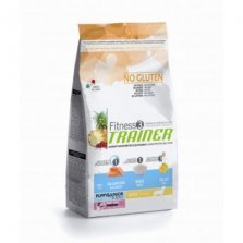 Trainer Fitness3 Puppy M/M Salmon/Rice/Oil NO GLUTEN 3kg