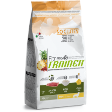 Trainer Fitness3 Adult Mini Duck/Rice/Oil NO GLUTEN (Antiena, ryžiai,aliejus) 800g