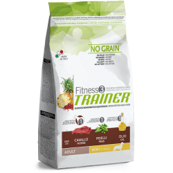 Trainer Fitness 3 Adult Mini Horse-Peas-Oil NO GRAIN (Arkliena,Žirniai,Aliejus) 800g