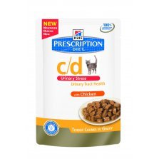 Hill's PD c/d Feline Urinary Stress su Vištiena 85g