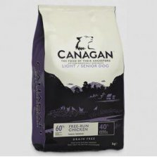 Canagan Free-Run chicken Light / Senior 12 kg