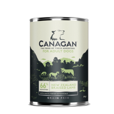 Canagan New Zealand Braised Lamb (su troškinta ėriena) 395 g