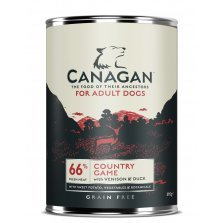 Canagan Country Game (su elniena, triušiena ir antiena) 395 g